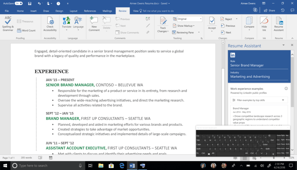 Inspired by Insiders – Touch Keyboard for PC - Windows Insider