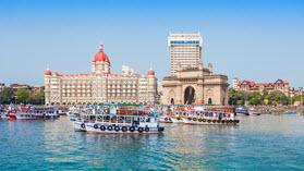 Mumbai river scene.