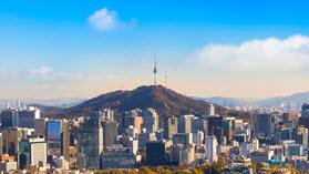 Seoul buildings.