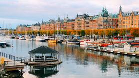 Stockholm scene.