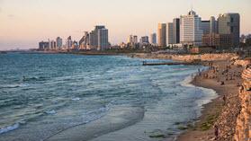 Tel Aviv buildings.