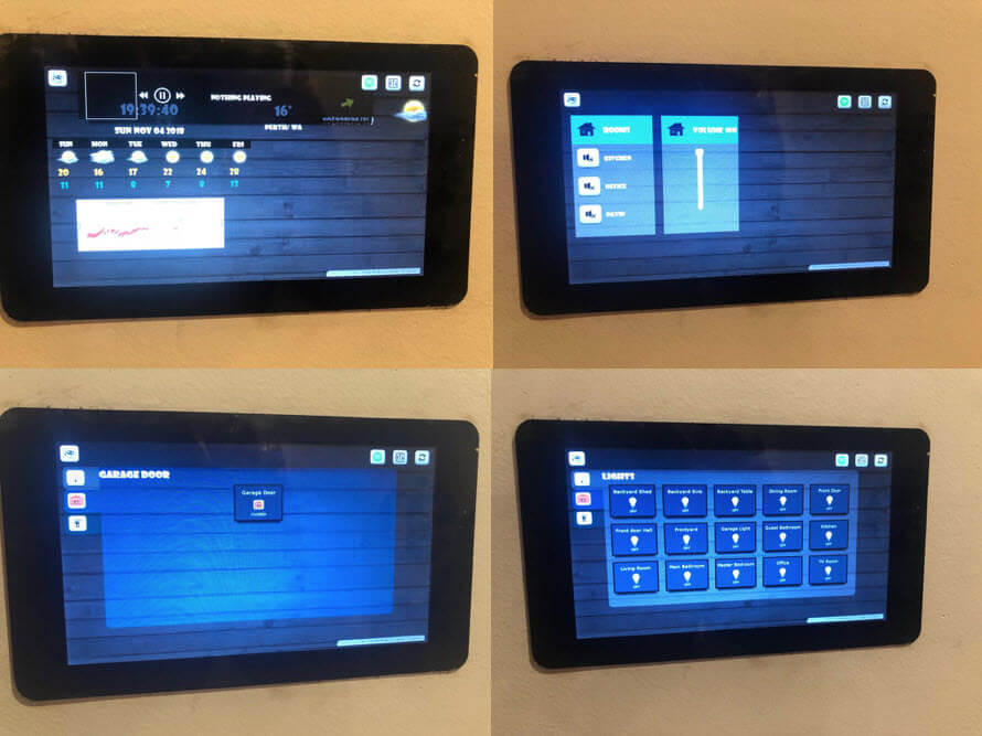Different versions of smart screen.