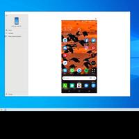Screenshot of phone screen on PC.