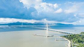 Shenzhen bridge.