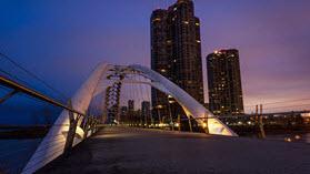 Toronto bridge.